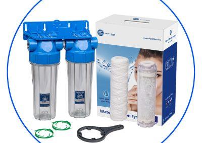 Filtración para la vivienda y para agua de lluvia