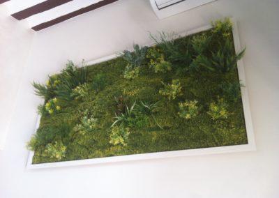 Cuadro vegetal La Tahona