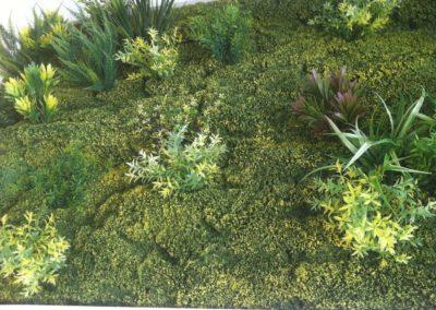 Detalle cuadro vegetal La Tahona