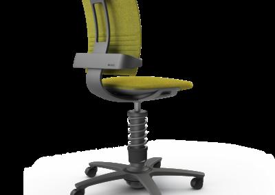 Ejemplo silla activa de oficina de lana Aeris 3Dee
