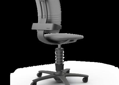 Ejemplo silla de oficina Aeris 3Dee